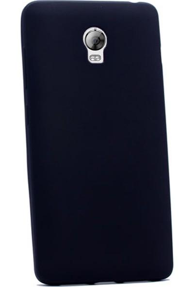 Gpack Lenovo P1 Kılıf Premier Silikon Yumuşak Arka Kapak Siyah