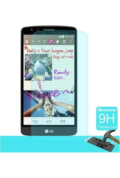 Letstur LG G3 Stylus Temperli Cam Ekran Koruyucu Film