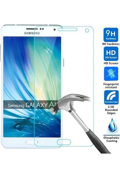 Letstur Samsung Galaxy A7 Temperli Cam Ekran Koruyucu Film