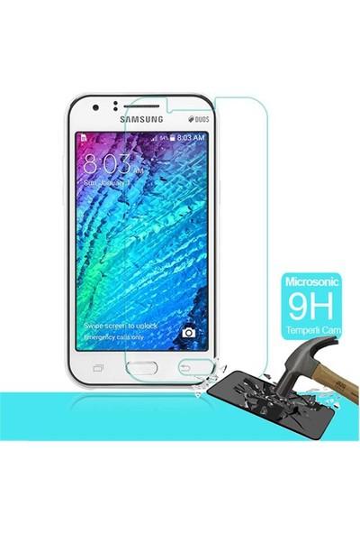 Letstur Samsung Galaxy J1 Temperli Cam Ekran Koruyucu Film