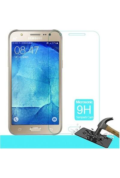 Letstur Samsung Galaxy J7 Temperli Cam Ekran Koruyucu Film