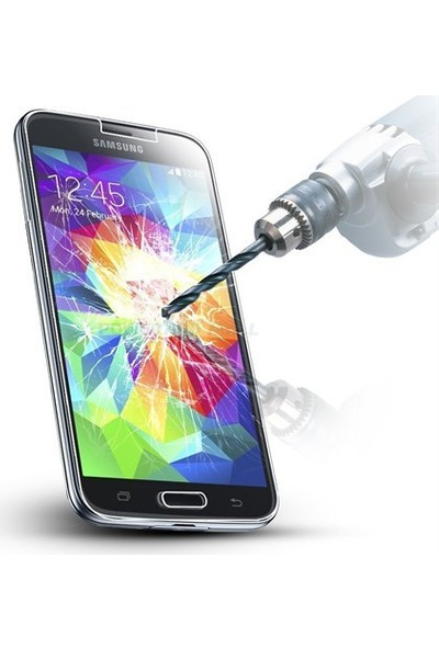 Letstur Samsung Galaxy S5 Temperli Cam Ekran Koruyucu Film