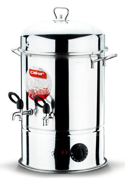 Çakır Mutfak 50 Bardak Endüstriyel Çay Otomatı (Metal Musluklu)