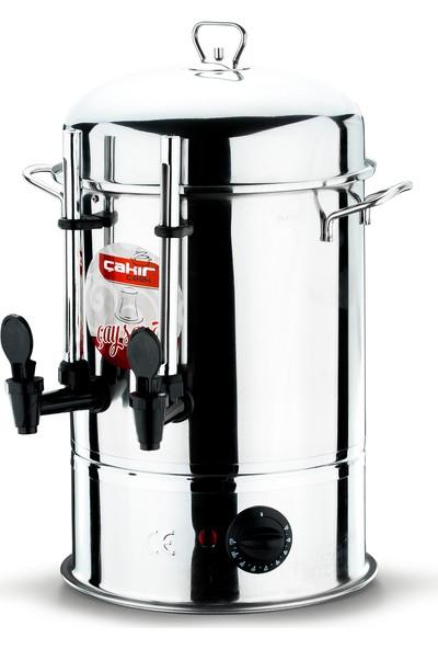 Çakır Mutfak 120 Bardak Endüstriyel Çay Otomatı (Göstergeli Musluklu)