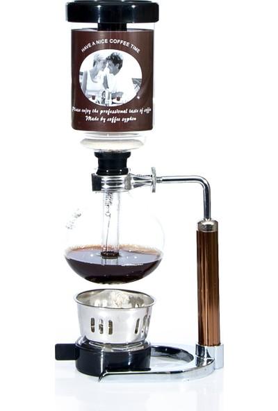 Epinox Coffee Syphon Kahve Sifonu 5 Bardak