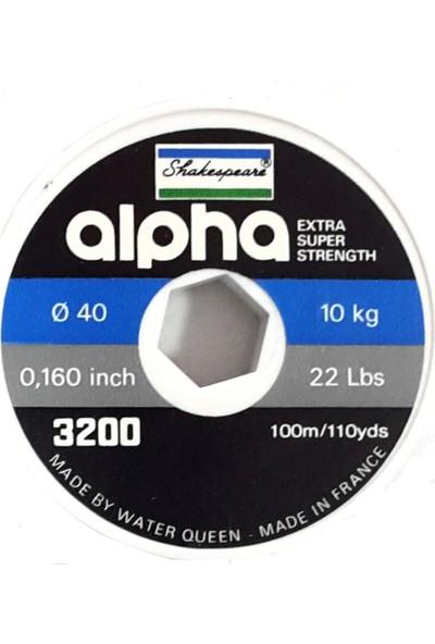 Shakespeare Alpha Black Misina (100 mt)