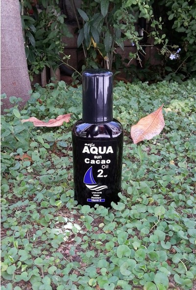 Aqua Sun Kakao Güneş Yağı