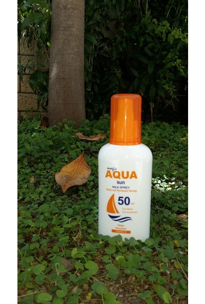Aqua Sun 50 Faktör Korumalı Güneş Sütü