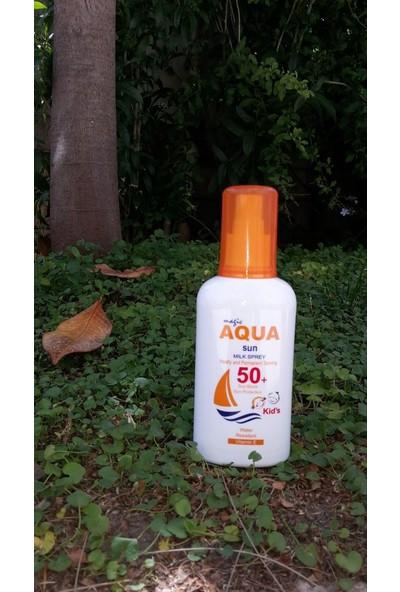 Aqua Sun 50 Faktör Korumalı Güneş Sütü (Çocuklar İçin)