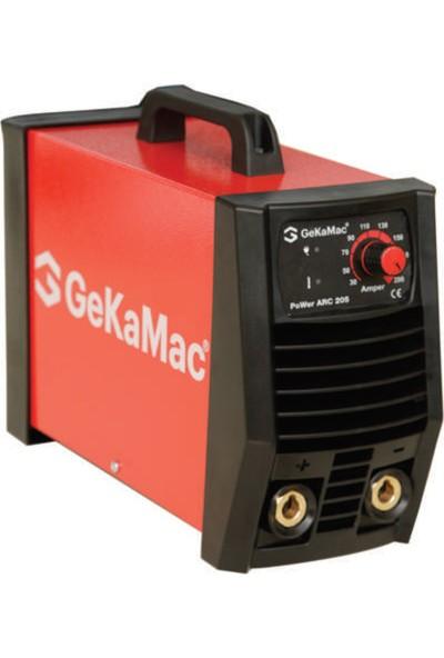 Gekamac Power Arc 205 İnvertör Kaynak Makinesi