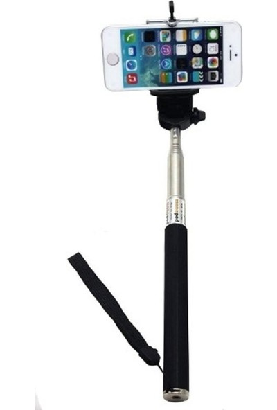 Hepsi Dahice Selfie Çubuğu Düz