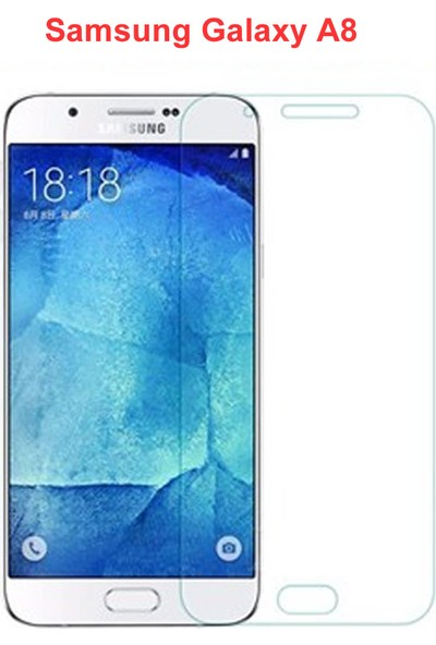 Nokta Samsung Galaxy A8 Ekran Koruyucu Cam