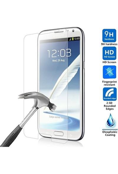 Nokta Samsung Galaxy Note 2 Ekran Koruyucu Cam
