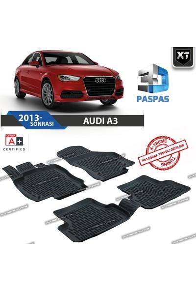 Xt Audi A3 8V 2013- Sonrası 3D Havuzlu Paspas