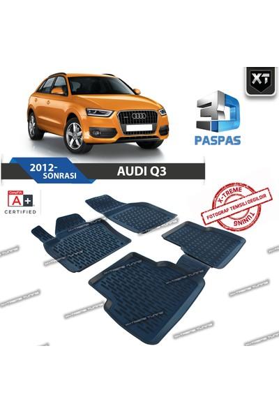 Xt Audi Q3 2012- Sonrası 3D Havuzlu Paspas