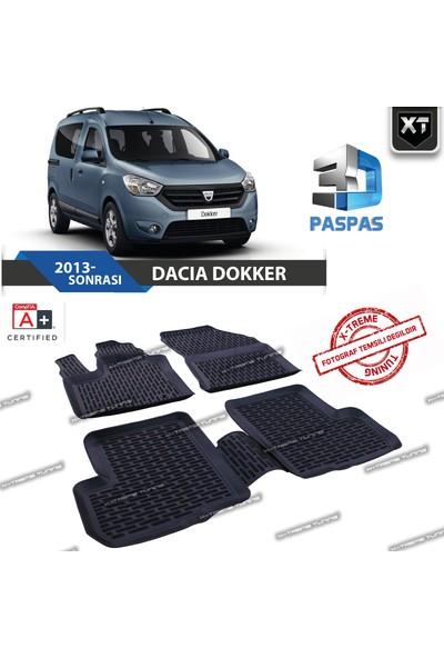 Xt Dacia Dokker 2013- Sonrası 3D Havuzlu Paspas