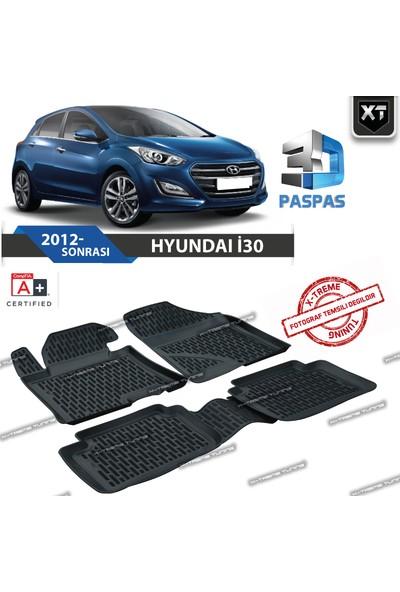 Xt Hyundai İ30 2012- Sonrası 3D Havuzlu Paspas