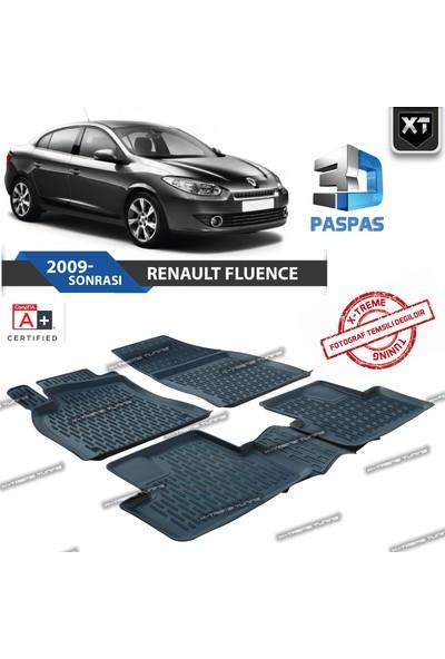 Xt Renault Fluence 3D Havuzlu Paspas 2009- Sonrası
