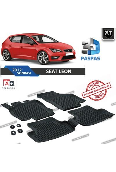 Xt Seat Leon 3D Havuzlu Paspas 2012- Sonrası