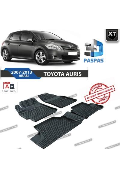 Xt Toyota Auris 3D Havuzlu Paspas 2007-2013 Arası