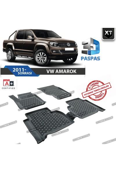 Xt Vw Amarok 2011- Sonrası 3D Havuzlu Paspas