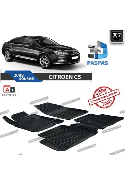 Xt Citroen C5 2008- Sonrası 3D Havuzlu Paspas