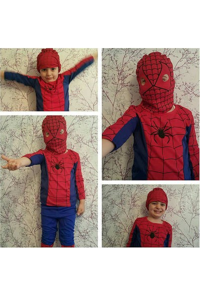 Leyaton Örümcek Adam Kostümü 3 - 5 Yaş (Small)