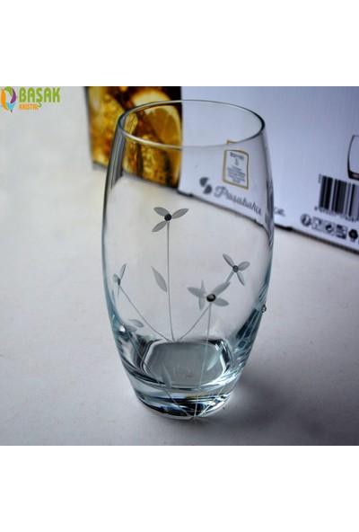Paşabahçe 41020 Gelin Çiçeği(Taşlı) 12 Adet Barrel Su - Meşrubat Bardağı