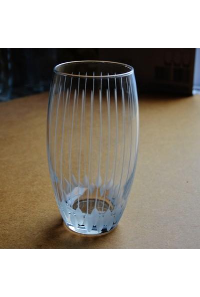 Paşabahçe 41020 Çivi Dekor 12 Adet Barrel Su - Meşrubat Bardağı