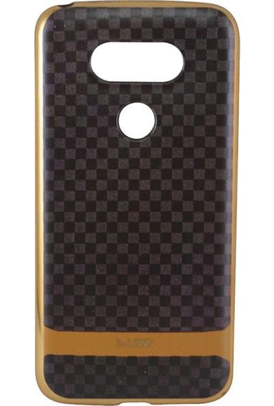 Alons Lg G5 Dama Tasarımlı Silikon Telefon Kılıfı