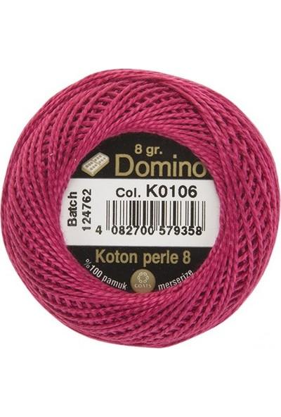 Coats Domino Koton Perle No:8 Nakış İpi K0106
