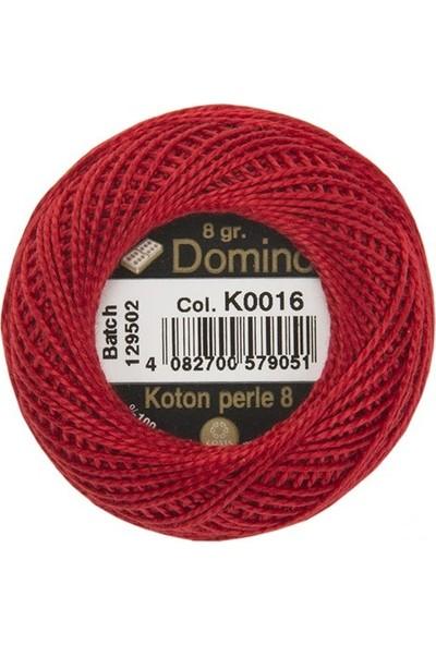 Coats Domino Koton Perle No:8 Nakış İpi K0016