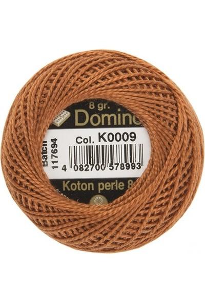 Coats Domino Koton Perle No:8 Nakış İpi K0009