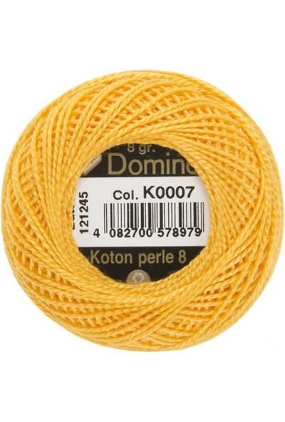 Coats Domino Koton Perle No:8 Nakış İpi K0007