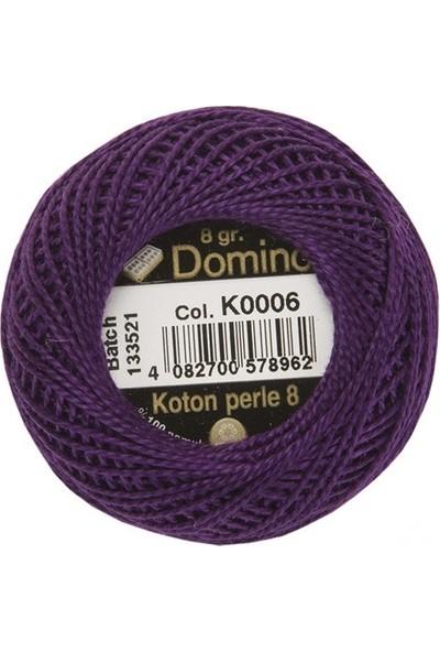 Coats Domino Koton Perle No:8 Nakış İpi K0006