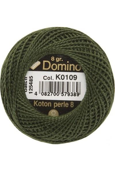 Coats Domino Koton Perle No:8 Nakış İpi K0109