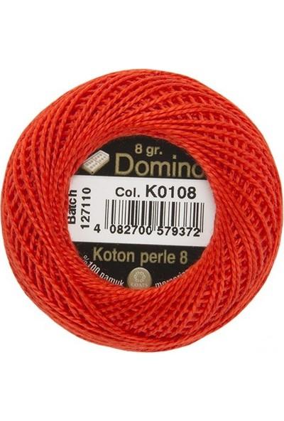 Coats Domino Koton Perle No:8 Nakış İpi K0108