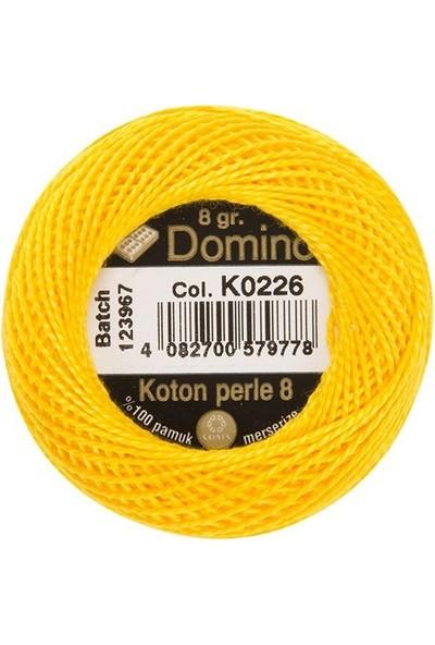Coats Domino Koton Perle No:8 Nakış İpi K0226