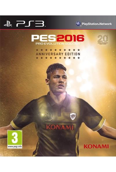 Konami Pes 2016 Anniversary Edition Ps3