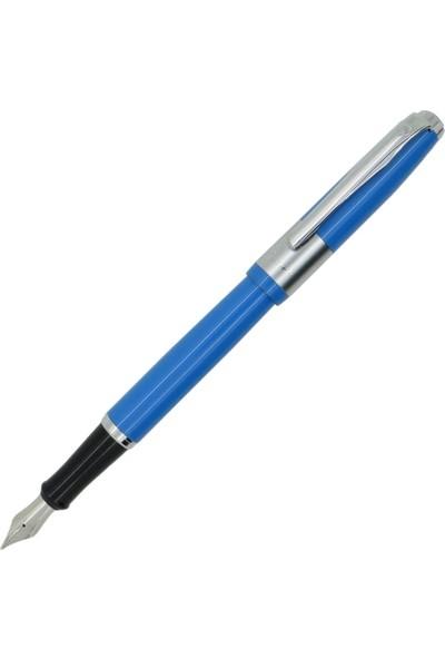 Picasso Braque Dolma Kalem Soft Mavi Picasso Kalem