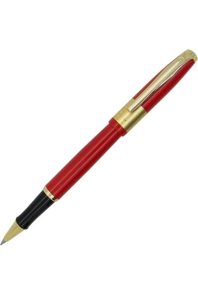 Picasso Braque Dolma Kalem + Roller Kalem Kırmızı Picasso Kalem