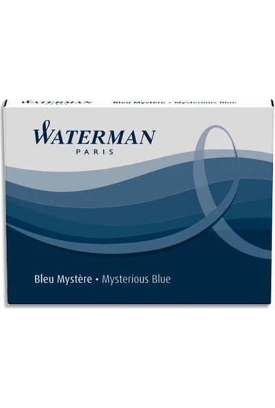 Waterman Kartuş 8'Li Siyah/Mavi