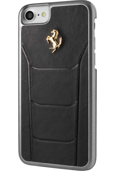 Ferrari Apple iPhone 7 Kılıf 488 Genuine Leather Hard