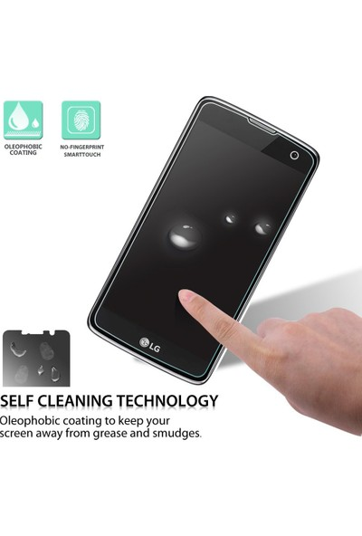 Microsonic LG K7 Temperli Cam Ekran koruyucu film