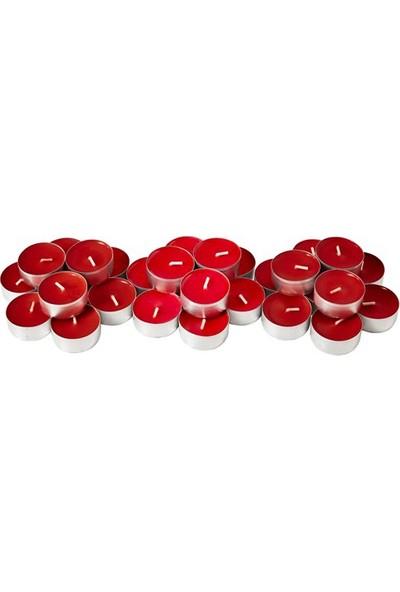 Onton Mum Tealight Kırmızı Renkli 200 Adet