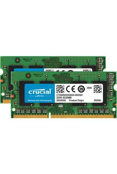 Crucial 16GB (2x8GB) 1600MHz DDR3 Notebook Ram CT2KIT102464BF160B