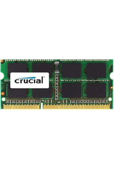 Crucial 4GB 1600MHz DDR3 Notebook Ram CT51264BF160B