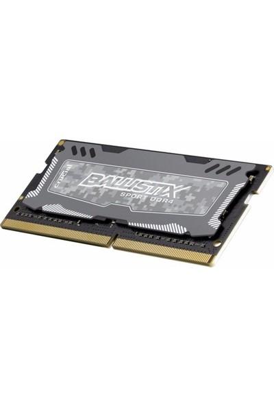 Crucial Ballistix Sport 16GB 2400MHz DDR4 Notebook Ram BLS16G4S240FSD