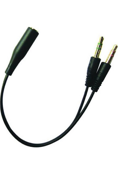 Sandberg Headset Converter (Mobile) to PC Kulaklık Çevirici Kablo - 508-67