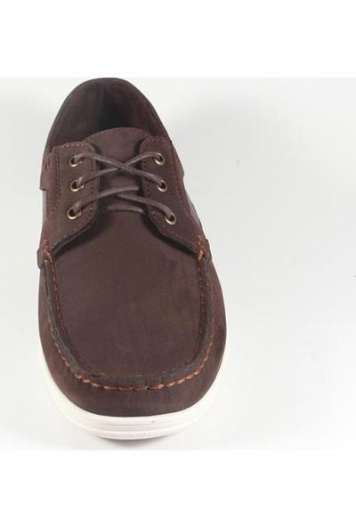 Commodore 218-10-066-53 Kahverengi Nubuk Erkek Ayakkabı